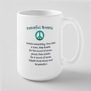 Peaceful Breath Large Mug