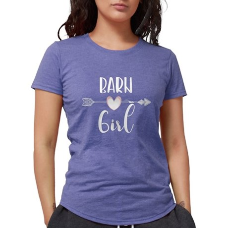 Barn Girl Horse Lover Design Equestrian Ho T-Shirt
