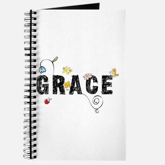 Grace Floral Journal