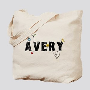 Avery Floral Tote Bag