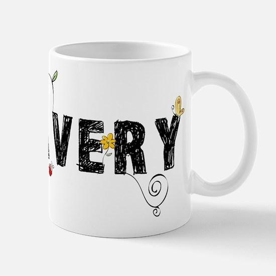 Avery Floral Mug
