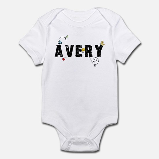 Avery Floral Infant Bodysuit