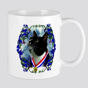 Vincent D. Cat by JLee Mugs