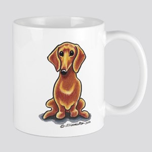 Smooth Red Dachshund Mug