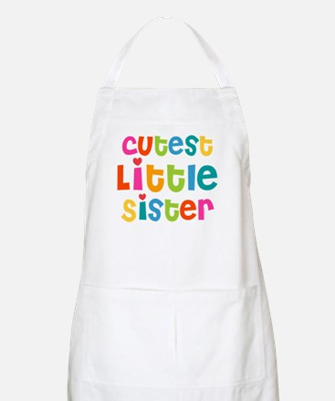 Cutest Little Sister Apron