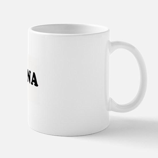I LOVE CHRISTINA ~  Mug
