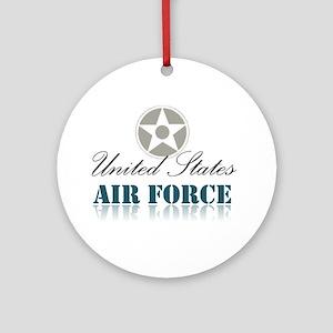 Unitedstates Ornament (Round)