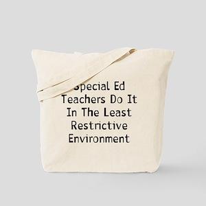 Special Teachers Tote Bag