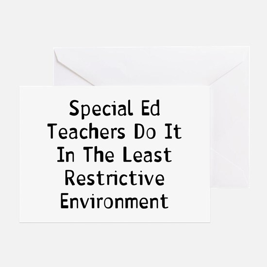 Special Ed Greeting Card