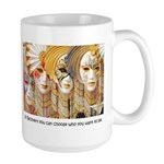 Venetian Masks Large Mug
