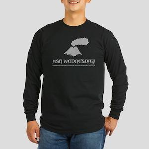 Iceland Volcano Long Sleeve Dark T-Shirt