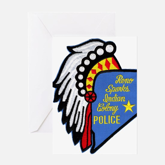 Reno Sparks Indian Police Greeting Card
