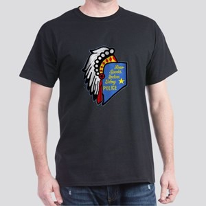 Reno Sparks Indian Police Dark T-Shirt