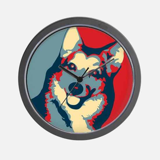 Vote Schipperke! - Wall Clock