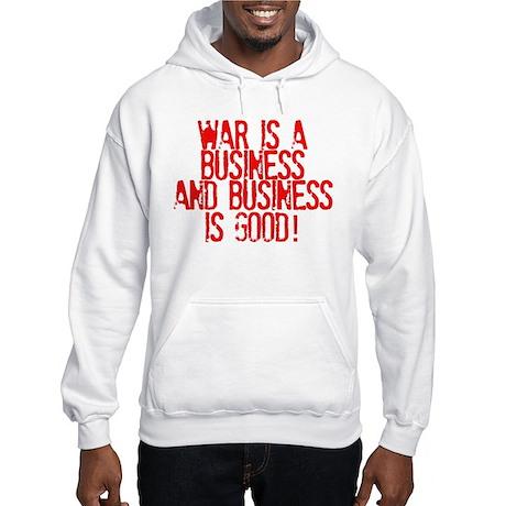 WAR Business Hooded Sweatshirt