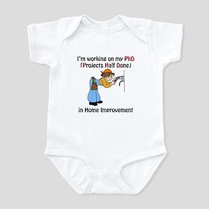 Home Improvement PhD Infant Bodysuit