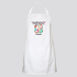 Quilting PhD Apron