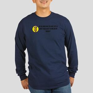 Vision Quest Long Sleeve Dark T-Shirt