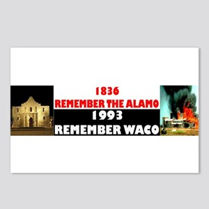 Remember The Alamo Postcards (Package of 8)