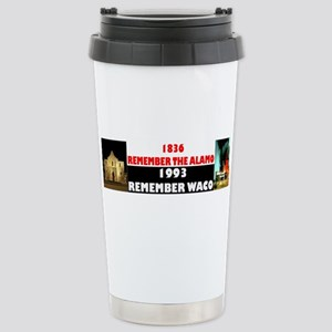 Remember The Alamo Stainless Steel Travel Mug
