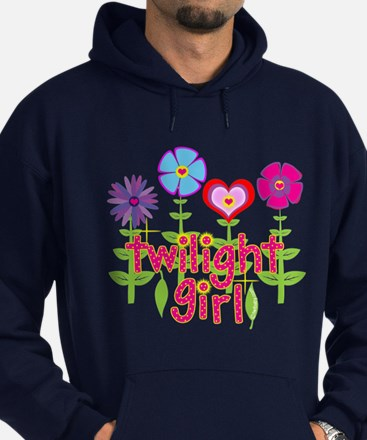 Twilight Girl by Twibaby Hoodie (dark)