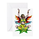 Sun Faerie Greeting Cards (Pk of 20)