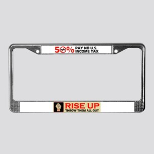 RISE UP IN 2010 License Plate Frame