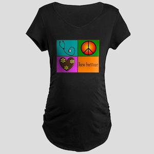 nurse practitioner Maternity Dark T-Shirt