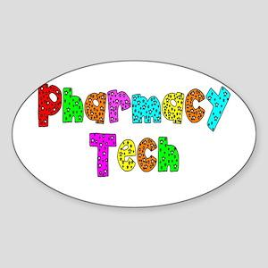 pharmacists II Sticker (Oval)