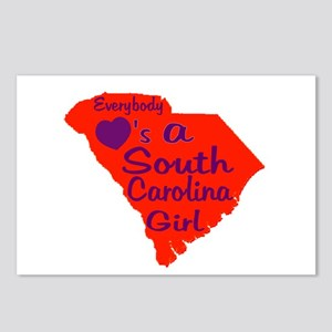 Everybody Loves a SC Girl (OP Postcards (Package o
