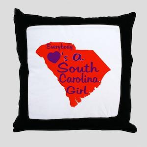 Everybody Loves a SC Girl (OP Throw Pillow