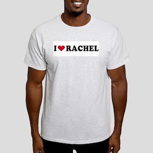 I LOVE RACHEL ~  Ash Grey T-Shirt