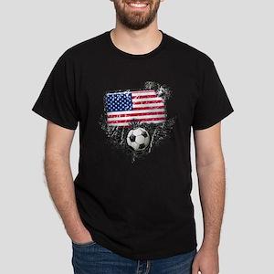 Soccer Fan United States Dark T-Shirt