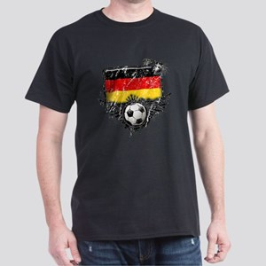 Soccer Fan Germany Dark T-Shirt