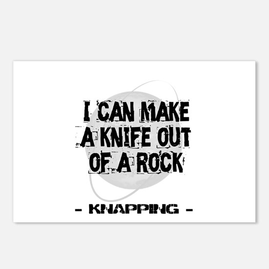 Knapping Postcards (Package of 8)