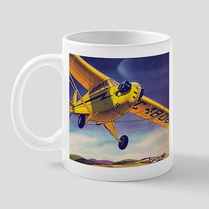 Piper Cub In Flight Mug