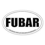FUBAR Oval Sticker