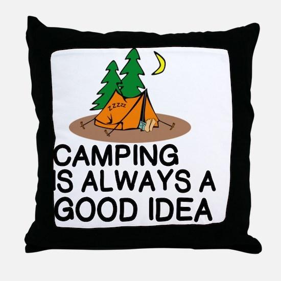 Good idea Throw Pillow
