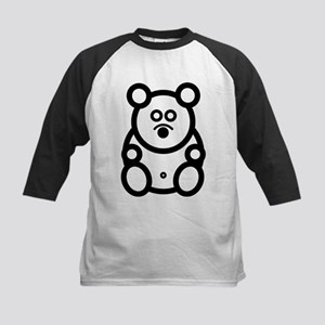Just The Bear Front and Back Kids Baseball Jersey
