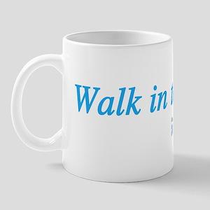 Walk in Light Mug