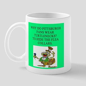 anti pittsburgh fan joke Mug