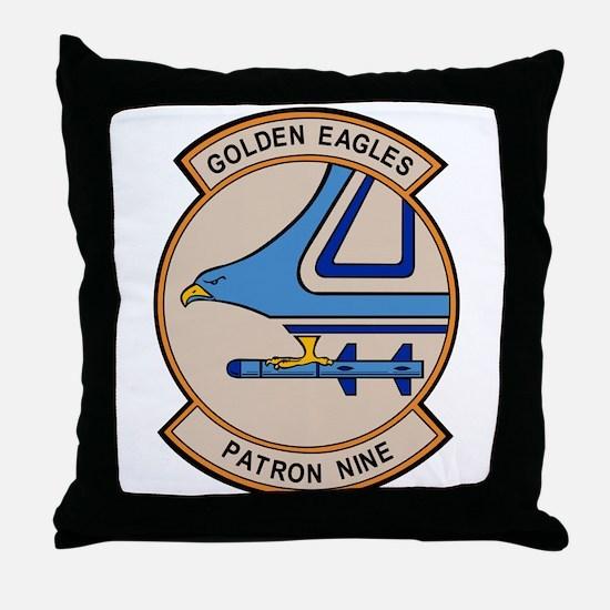 VP-9 Golden Eagles Throw Pillow