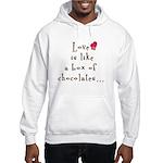 2-sided Love is Like Hooded Sweatshirt