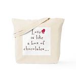 2-Sided Love is Like Tote Bag