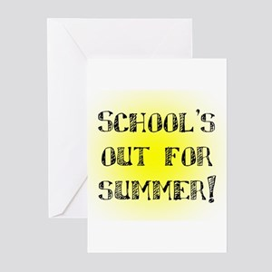 School's Out for Summer Greeting Cards (Pk of 20)