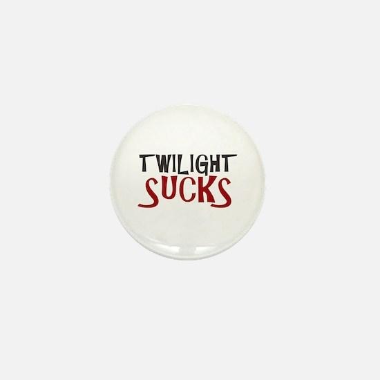 Twilight Sucks Mini Button