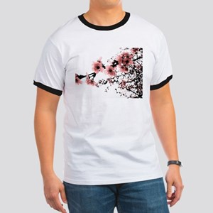 Cherry Blossoms Ringer T