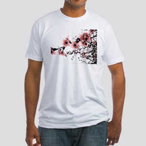 Cherry Blossoms Fitted T-Shirt