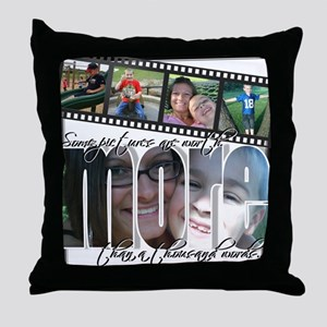More than 1000 words Throw Pillow