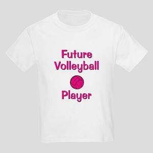 Future Volleyball Player Kids Light T-Shirt